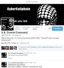 Source: http://www.ibtimes.com/centcom-twitter-hack-official-account-back-online-after-breach-isis-sympathizers-1781040